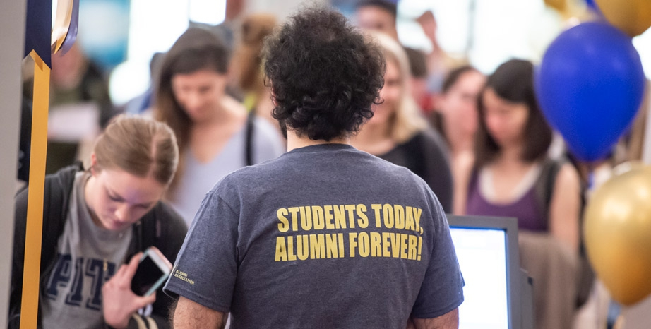Graduation Central t-shirt, Students Today, Alumni Forever!